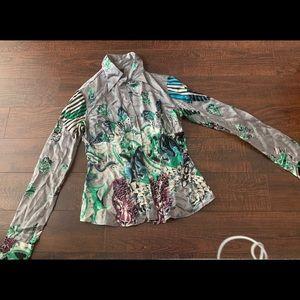 Roberto Cavalli vintage silk shirt